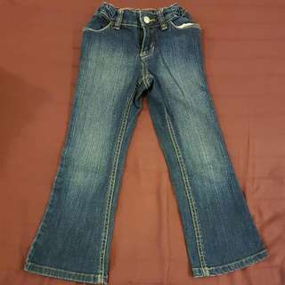Girl's Jeans Size : 4-5 Y.o