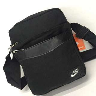 Nike sling bag size : 8*10 inches