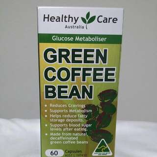 Healthy Care Green Coffee Bean