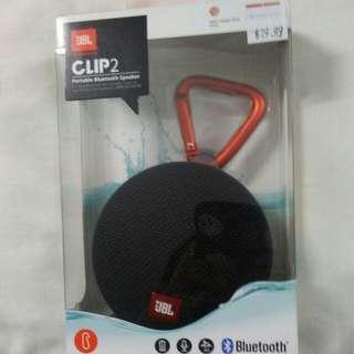 JBL harman clip2 partable bluetooth speaker