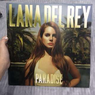 LANA DEL REY Born To Die: The Paradise Edition VINYL RECORD ALBUM