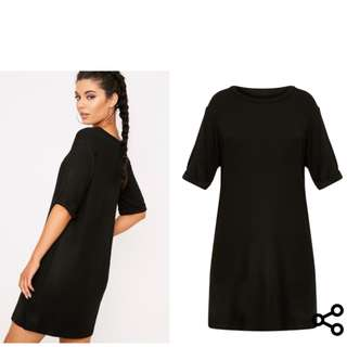 Pretty little thing oversized tshirt dress