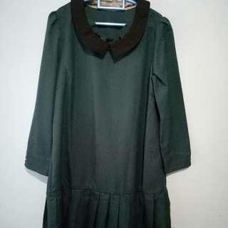 dress size s atau m masih muat