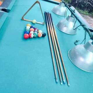 meja billiard de belle 9 feet