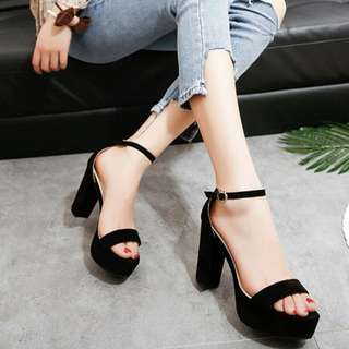Ready Stock Ankle Strap Heels