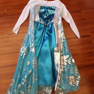 冰雪奇緣禮服