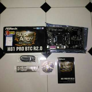 Motherboard Asrock H81 Pro BTC R2.0 | Mining Motherboard