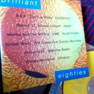 Brilliant Eighties - New Wave 80s CD, Various Artists, England