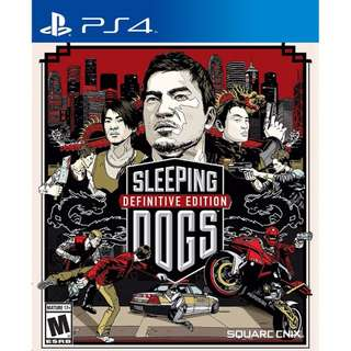 PS4 Game Sleeping Dogs: Definitive Edition