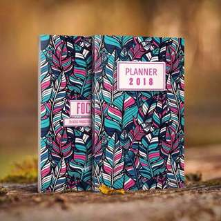 Adult Plannerbook 2018 D