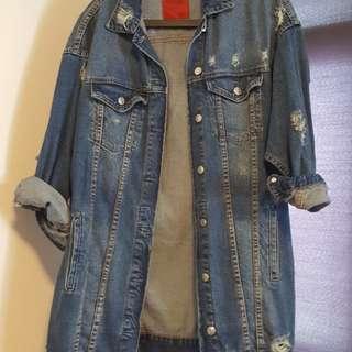 Pull and bear denim jacket