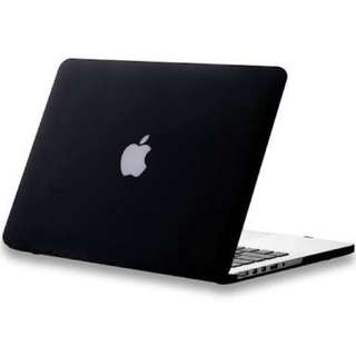 "MATTE BLACK MACBOOK PRO COVER (13"")"