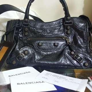 Balenciaga巴黎世家Mini City Bag