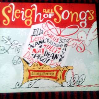 Sleigh Full of Songs, Tri-Fold Christmas CD, Various Artists, US