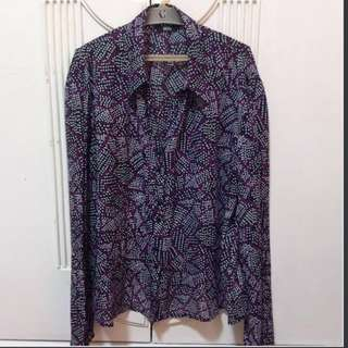 Marks & Spencer® Purple Mix Blouse
