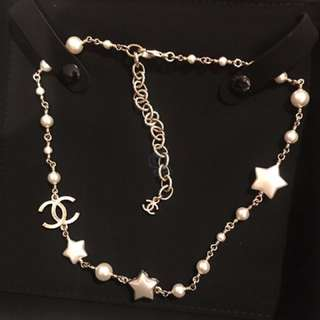 Chanel Star Necklace