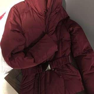 ZARA Basics Jacket Small New with belt clip