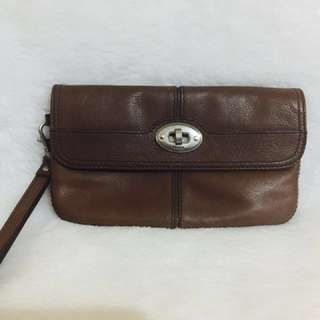 Fossil Foldover Clutch