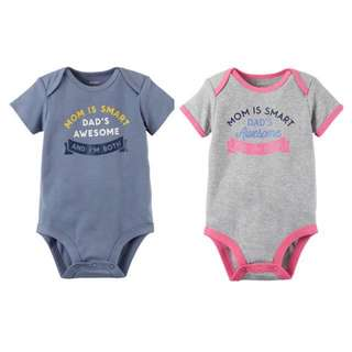 Carter's Smart & Awesome Bodysuit