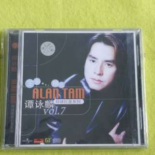 谭咏麟 ALAN TAM 第七卷( 罕见) vol.7 (Rare)  Cd not vinyl
