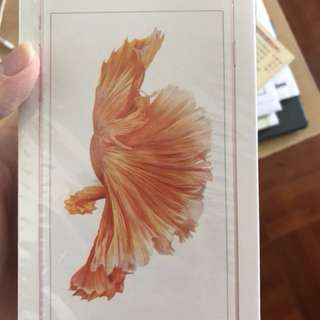 Iphone 6s plus 64Gb 玫瑰金