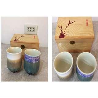 陶瓷茶杯(二入)