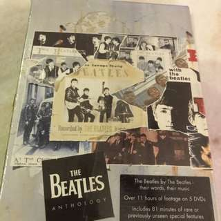 The Beatles Anthology in DVDs