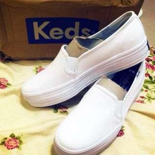 Keds小白鞋 厚底增高37號