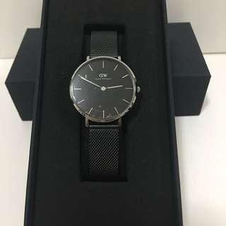 DW最新黑色鋼錶32mm