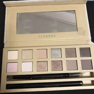 Sephora eye shadow plate