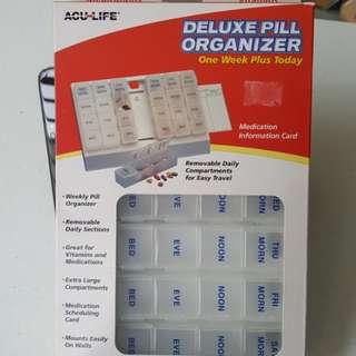 BNIB Pill Orangizer