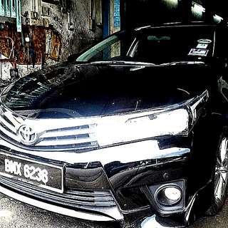 Toyota altis 1.8a end 2015