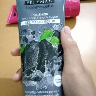Restock! Freeman Mask + Scrub Charcoal + Black Sugar