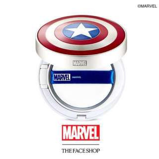 BN limited edition The Faceshop Marvel cushion PUFF