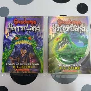 Goosebumps HorrorLand (2titles)