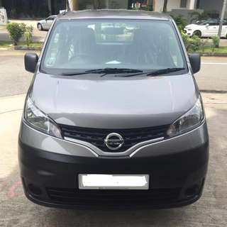Brand New Nissan NV200 For Lease