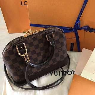LV BB Alma Bag (Authentic)