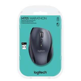 Logitech M705 Marathon Wireless Cordless Mouse PC & Mac Unifying Receiver 910-001935 *NEW*