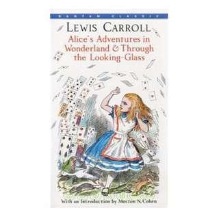 英文小說 Alice's Adventures in Wonderland and Through the Looking-glass