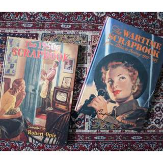 The Wartime (1939-1945) and The 1950's Scrapbook