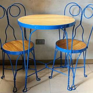 Batibot Chairs and Tables