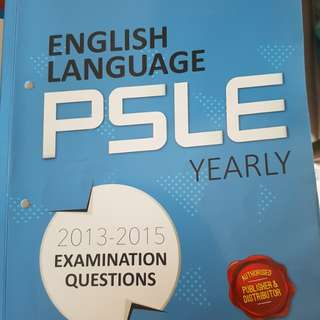 PSLE English yearly, past years papers