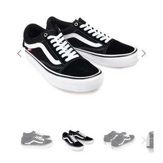 VANS 萬斯 OLD SKOOL DX BLACK黑 男鞋 26號