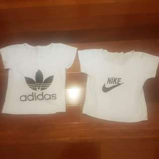 Nike and Adidas shirt top 6