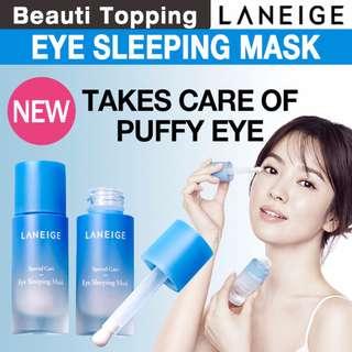 *BUY 1 GET 1 FREE* [Laneige] Eye Sleeping Mask +  Canola Honey Capsule Recipe Mask