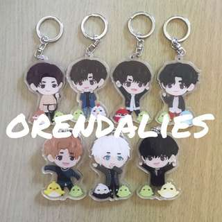 GOT7 Never Ever / Flight Log Arrival Fanmade Charm / Keychain