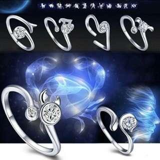 Constellation / Zodiac Rings