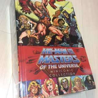 He-Man and the Masters of the universe Mini comics colletion