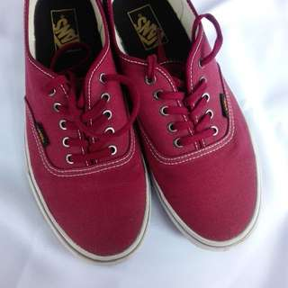 Super Sale!  Vans Maroon Shoes