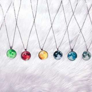 Moon Necklace Repriced